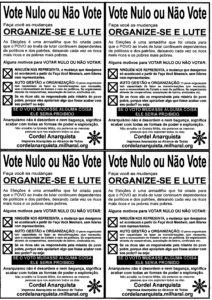 Panfleto Voto Nulo